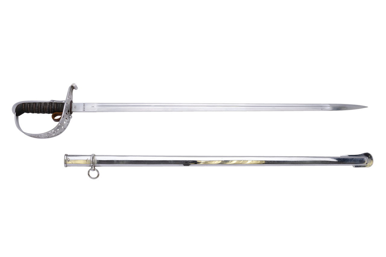 1899 Swiss Army Infantry Officer Sword