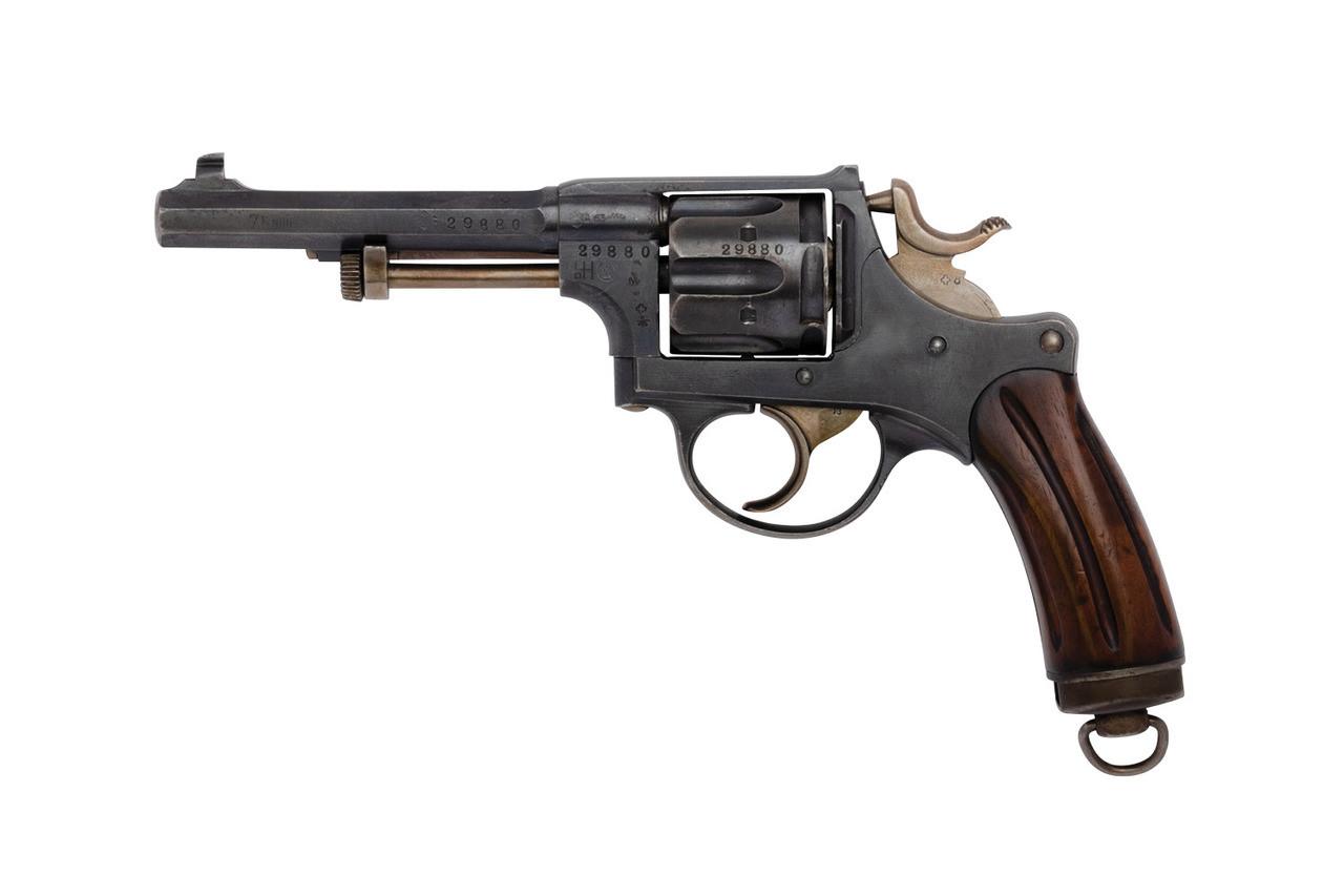 W+F Bern Swiss 1882 Revolver - sn 29880