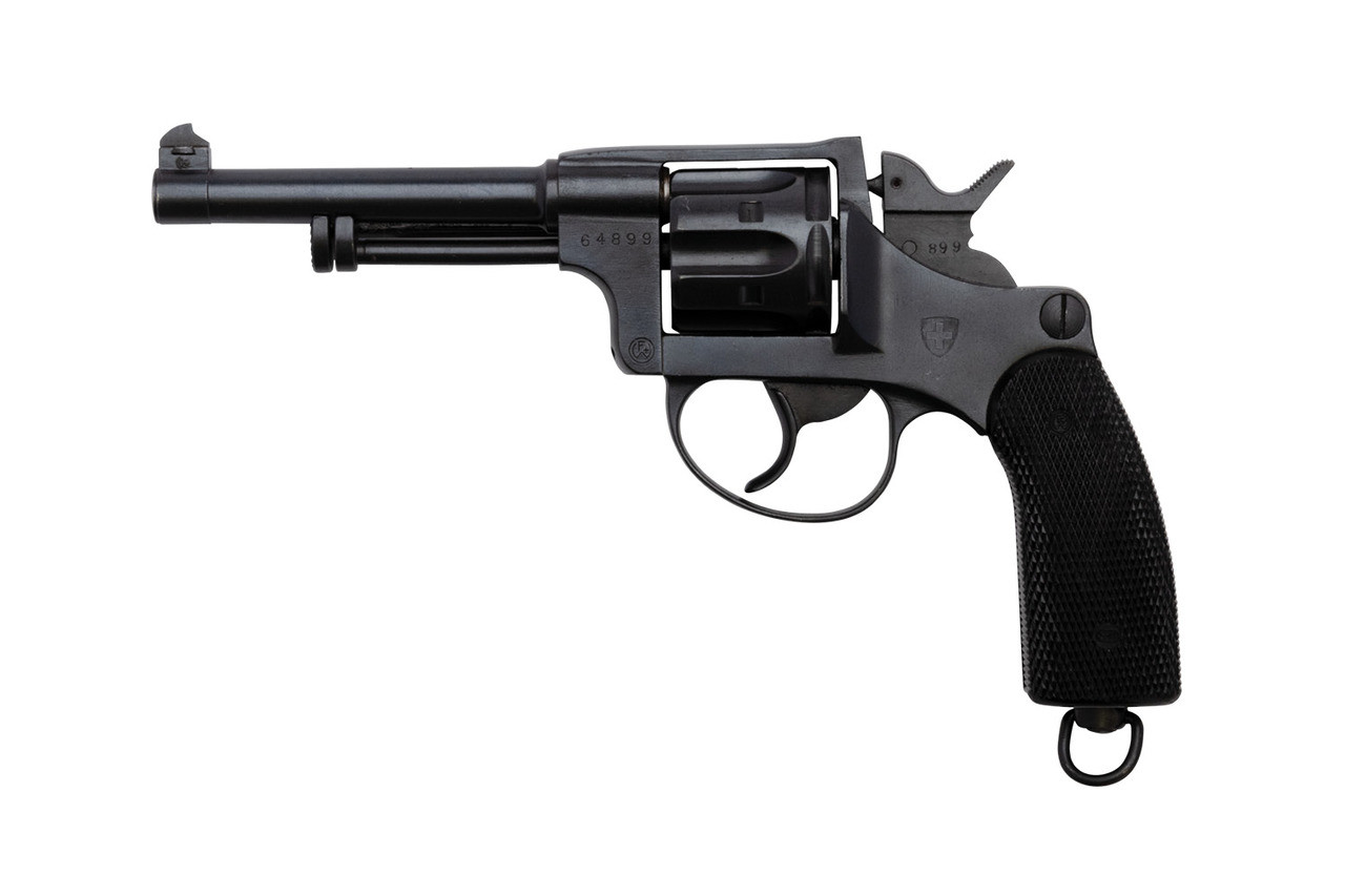 W+F Bern Swiss 1929 Revolver w/ Holster - sn 64xxx