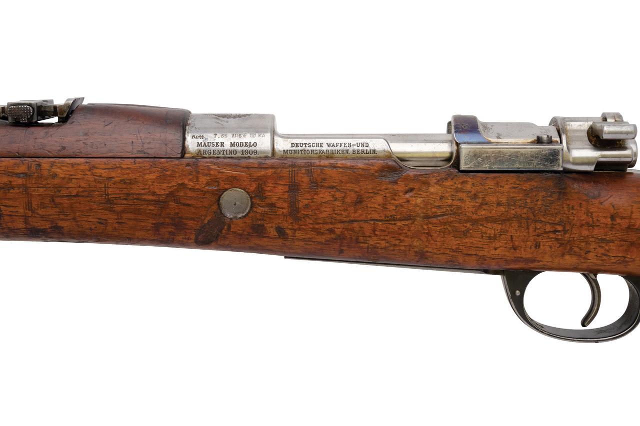 DWM Argentine Contract 1909 Mauser - sn F4xxx