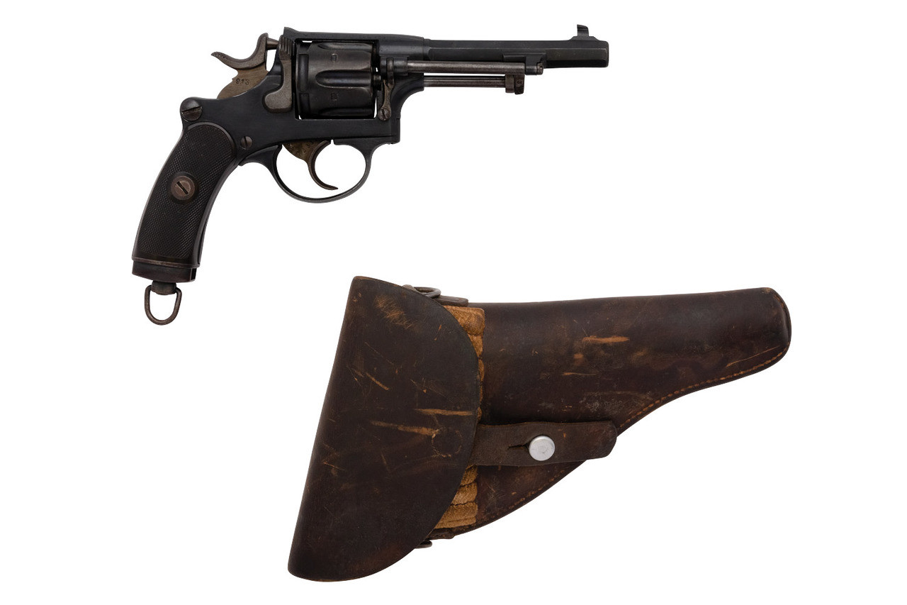 W+F Bern Swiss 1882 Revolver w/holster - sn 13xxx