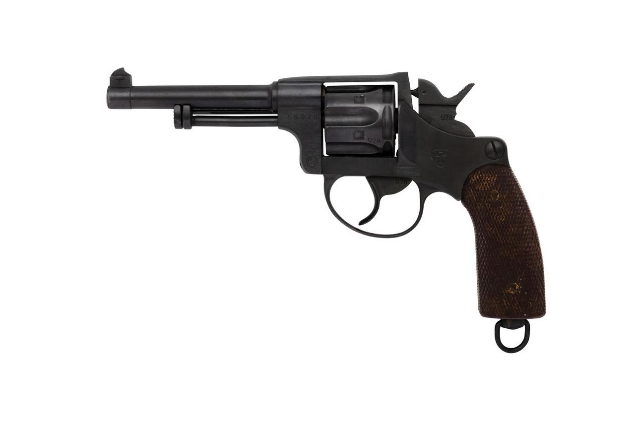 W+F Bern Swiss 1929 Revolver w/ Holster - sn 569xx