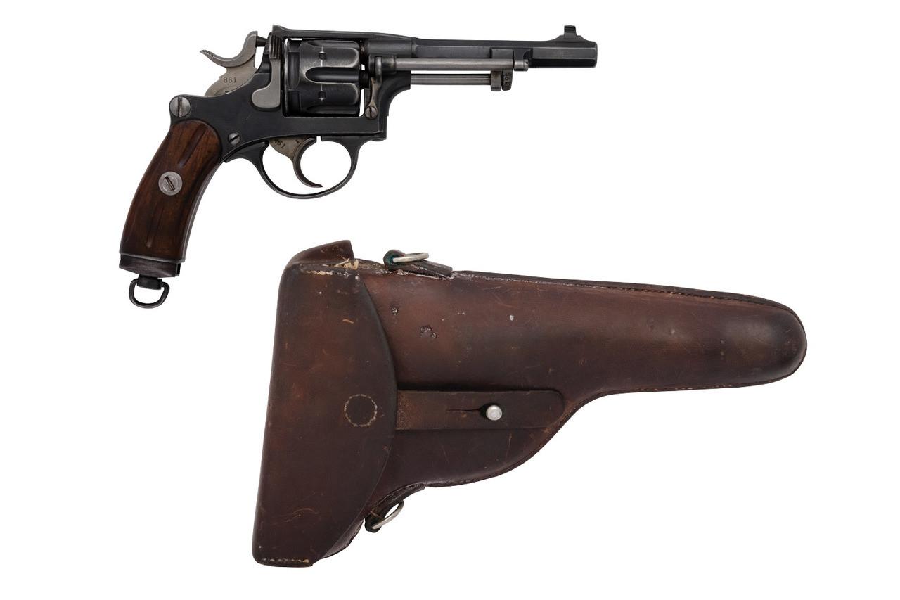 W+F Bern Swiss 1882 Private Series Revolver w/ Holster - sn P22xxx