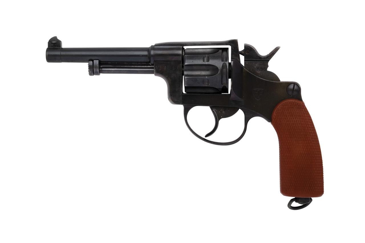 W+F Bern Swiss 1929 Private-series Revolver - sn P25xxx