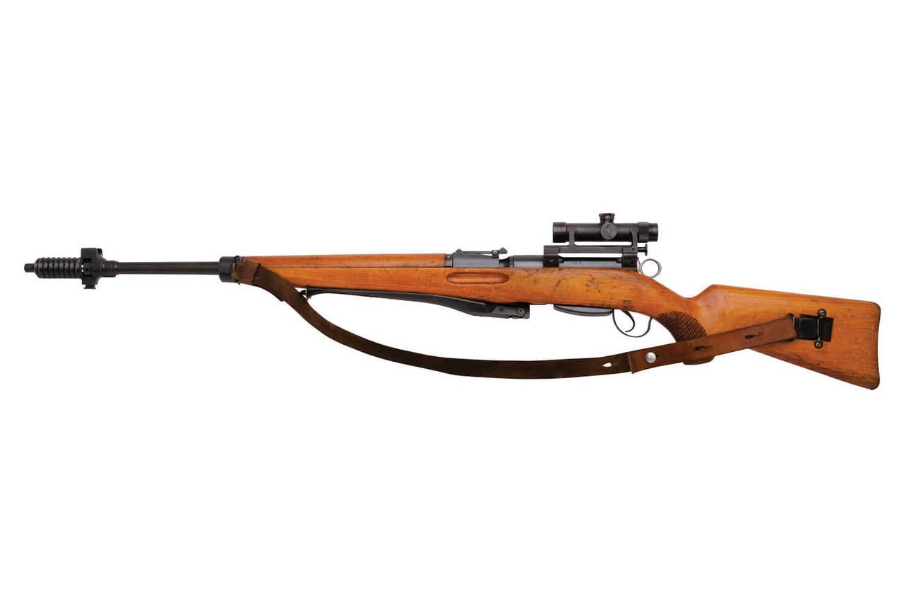 W+F Bern Swiss ZFK 55 Sniper Rifle - sn 25xx