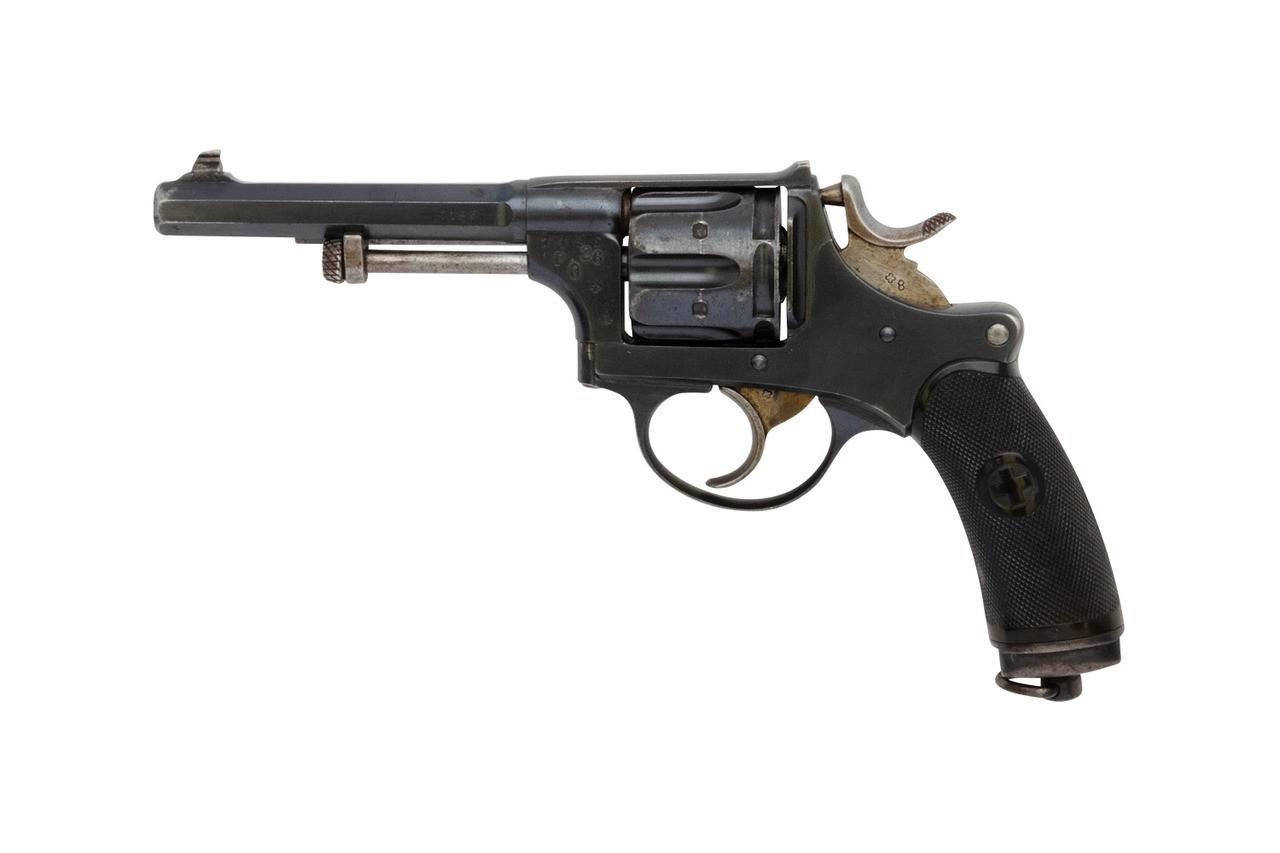 W+F Bern Swiss 1882 Revolver w/ Holster - sn 7xxx