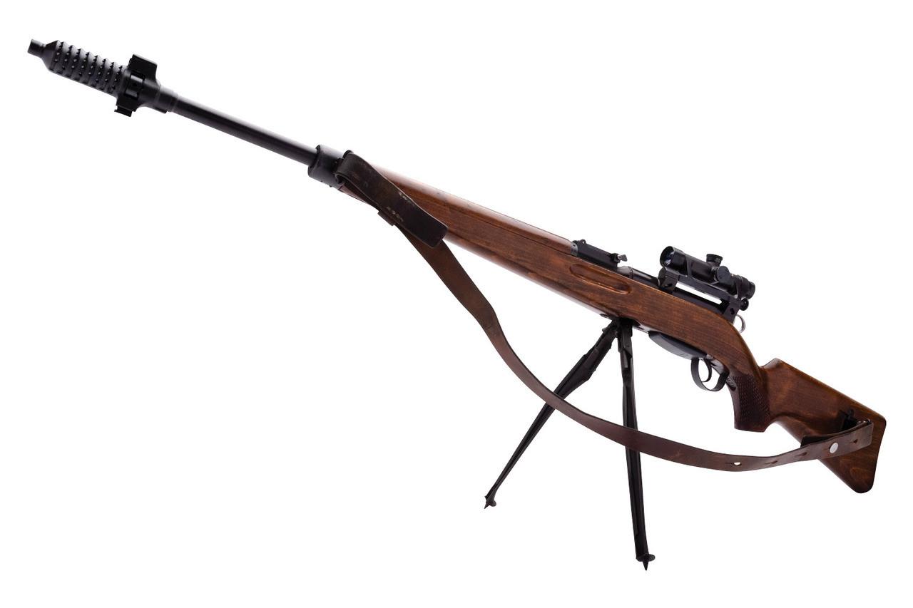W+F Bern Swiss ZFK 55 Sniper Rifle - sn 31xx