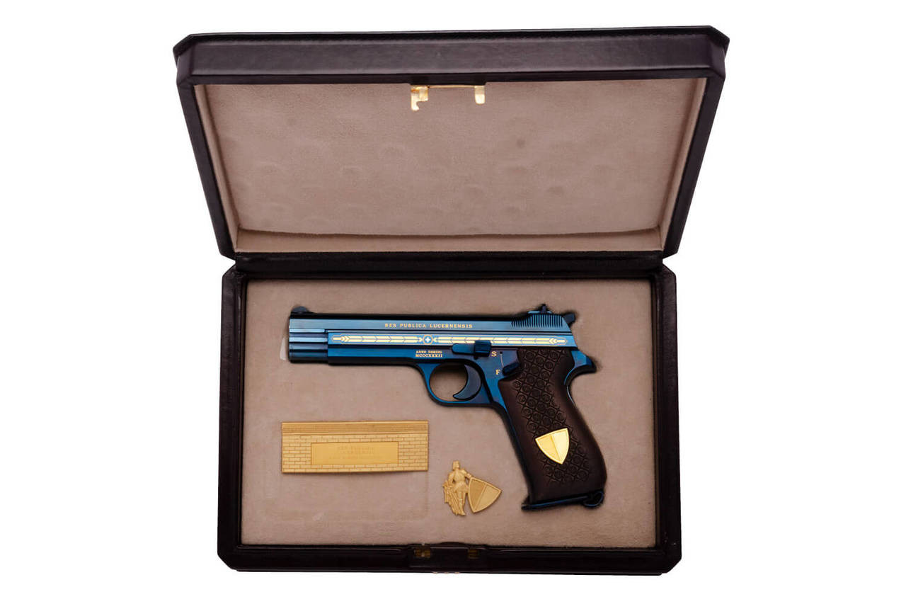 SIG P210 - Canton Lucerne Limited Edition - sn 002