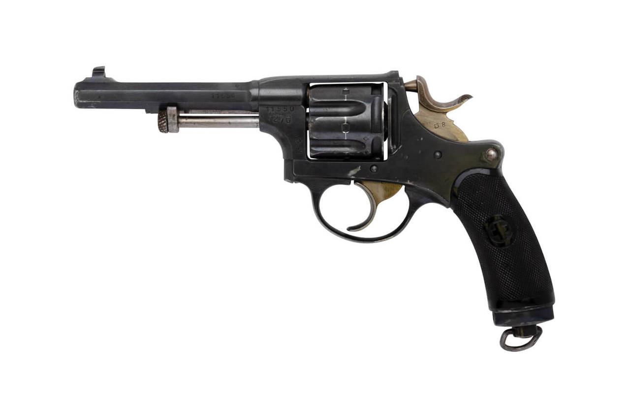 W+F Bern Swiss 1882 Revolver w/ holster - sn 11xxx