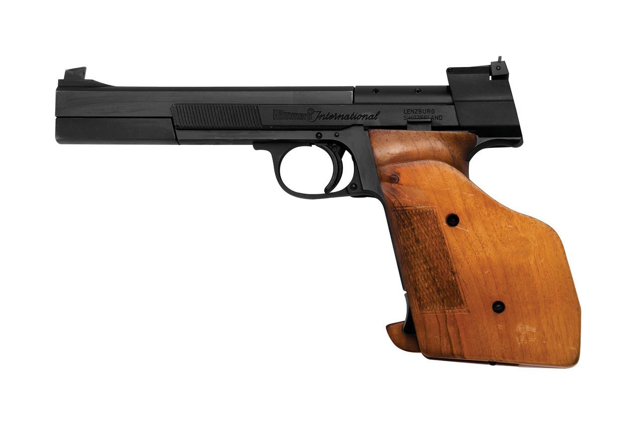Hammerli International Target Pistol w/ spare mag - sn G3xxxx