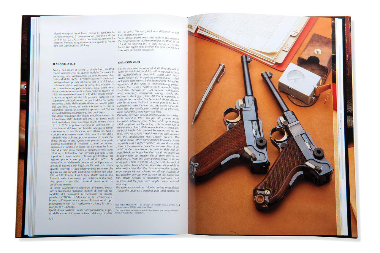 Parabellum - A Technical History of Swiss Lugers (Italian/English)