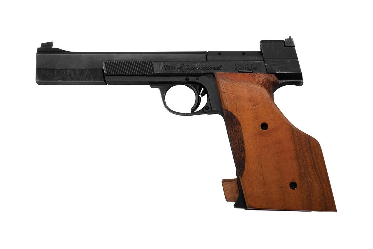 Hammerli International Target Pistol - sn G4xxxx