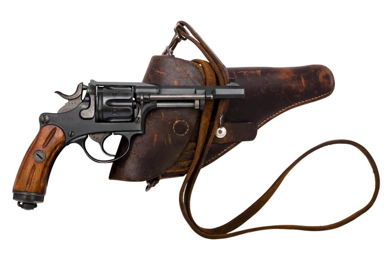 W+F Bern Swiss 1882 Revolver w/ holster - sn 20xxx
