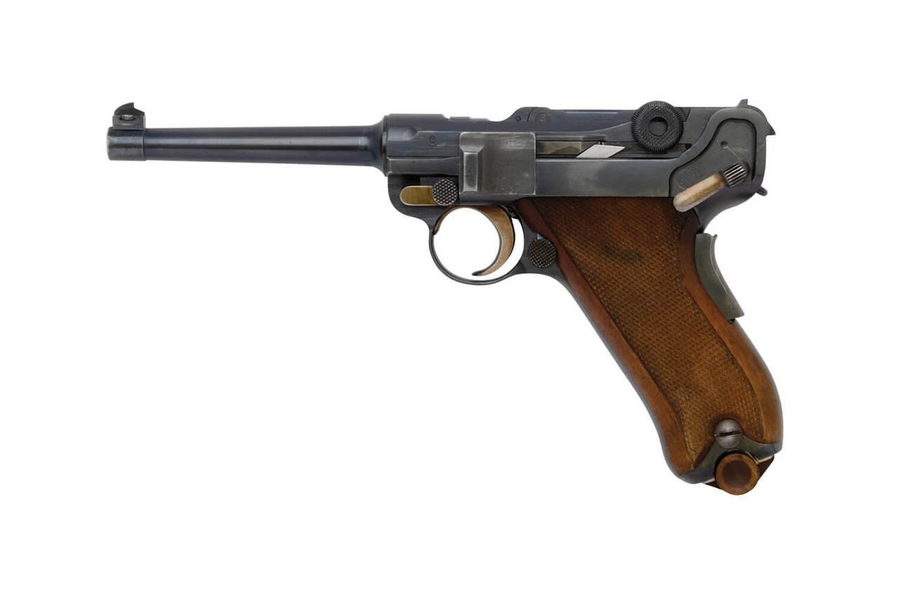 W+F Bern Swiss 06/24 Luger w/ Holster - sn 21xxx