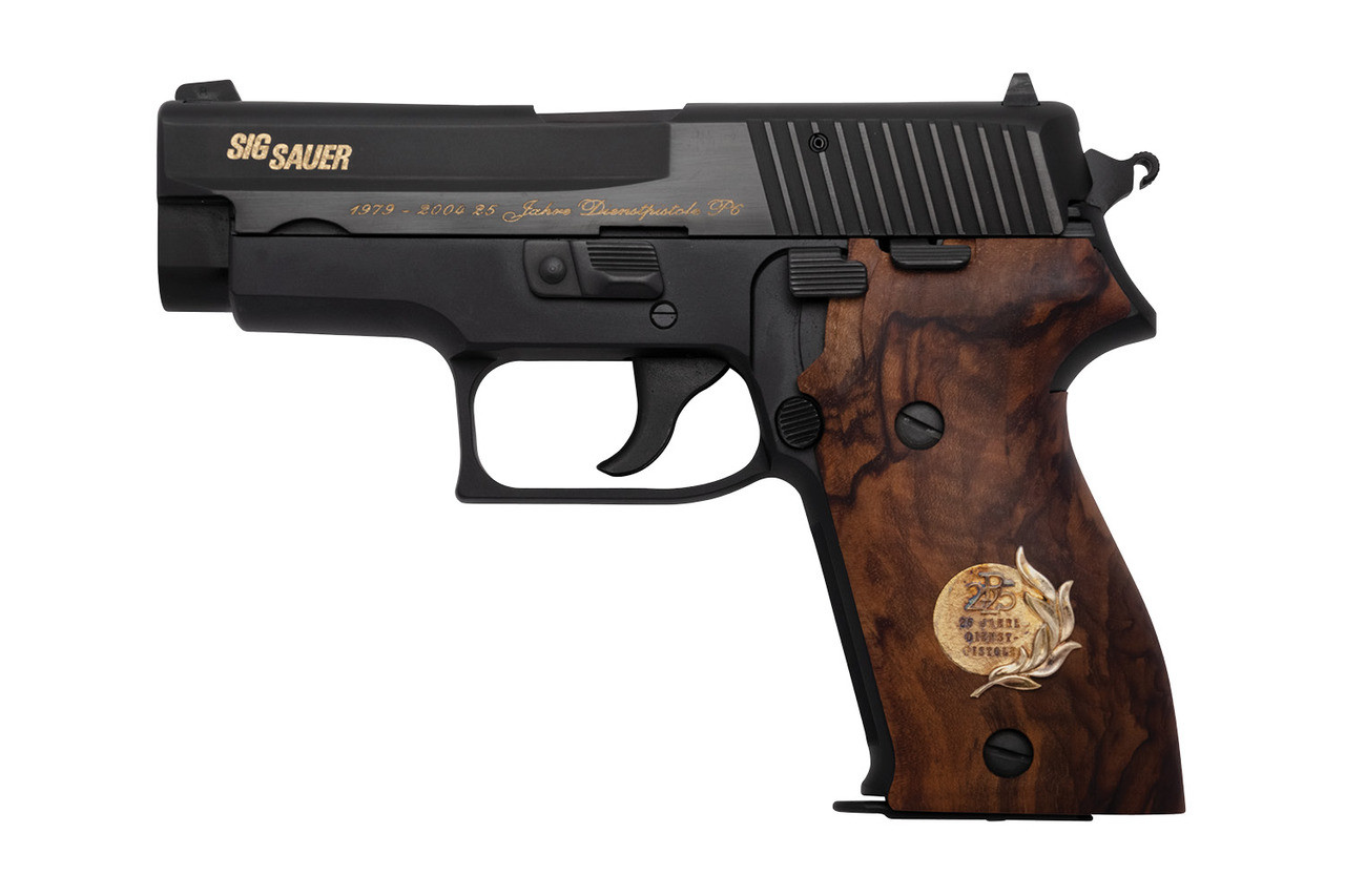 SIG P6 (P225), 25 Year Commemorative - sn JU22xxxx