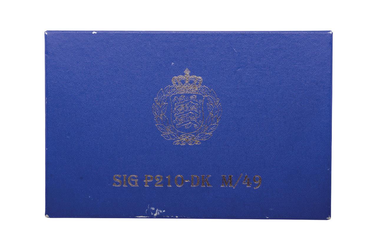 SIG Danish Military m/49 w/ box - sn 10xxx