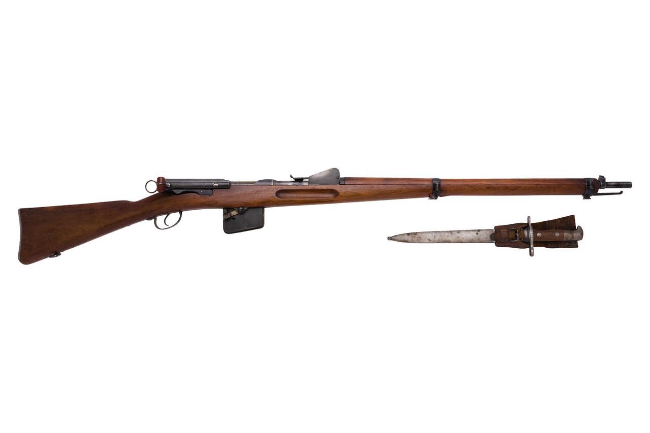 W+F Bern Swiss 1889 w/ Bayonet - sn 156xxx
