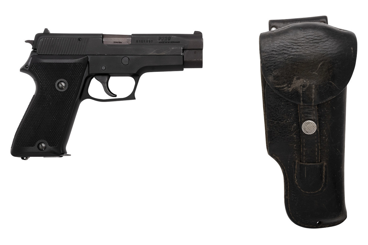 West German SIG Sauer P220 w/ Holster - sn G101xxx