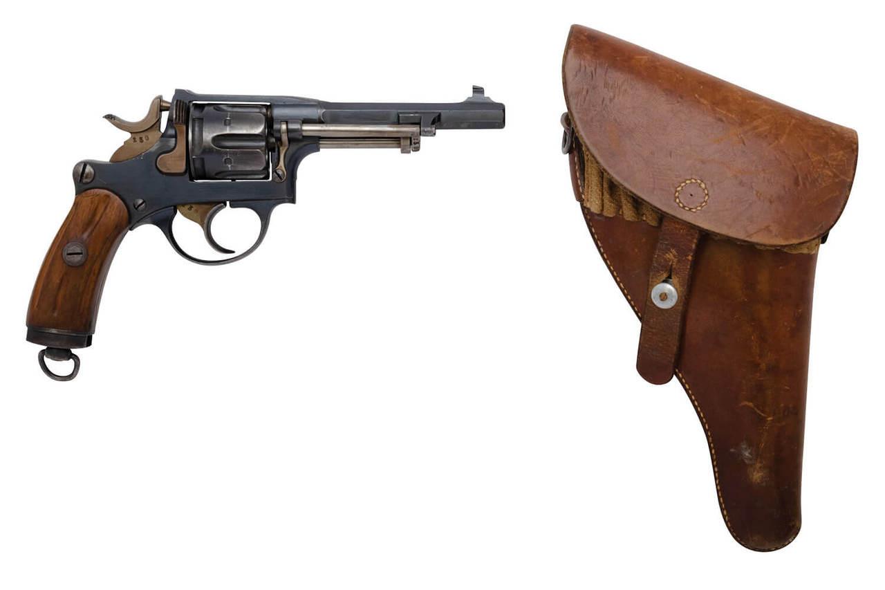 W+F Bern Swiss 1882 Revolver w/ Holster - sn 24xxx