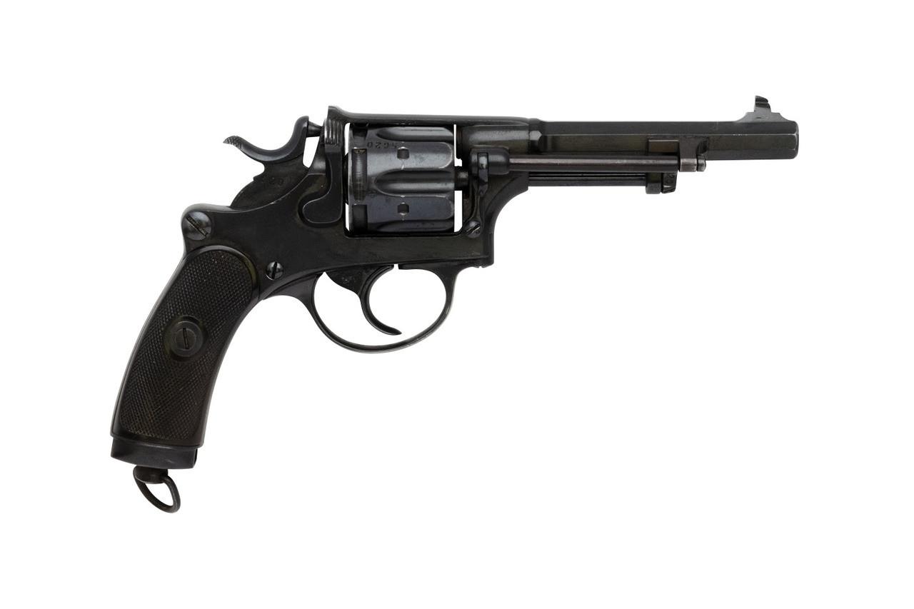 W+F Bern Swiss 1882 Revolver - sn 56xx