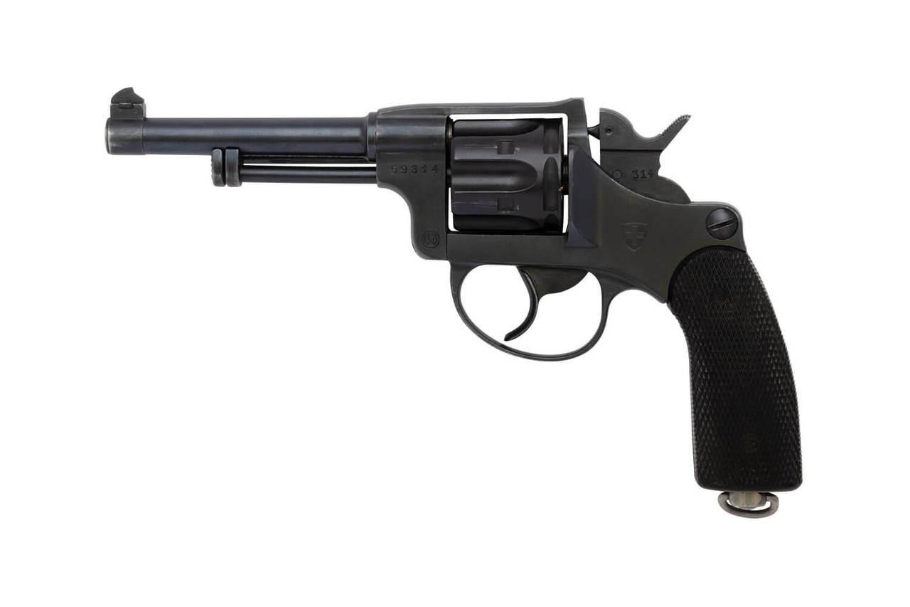 W+F Bern Swiss 1929 Revolver w/ Holster - sn 59xxx