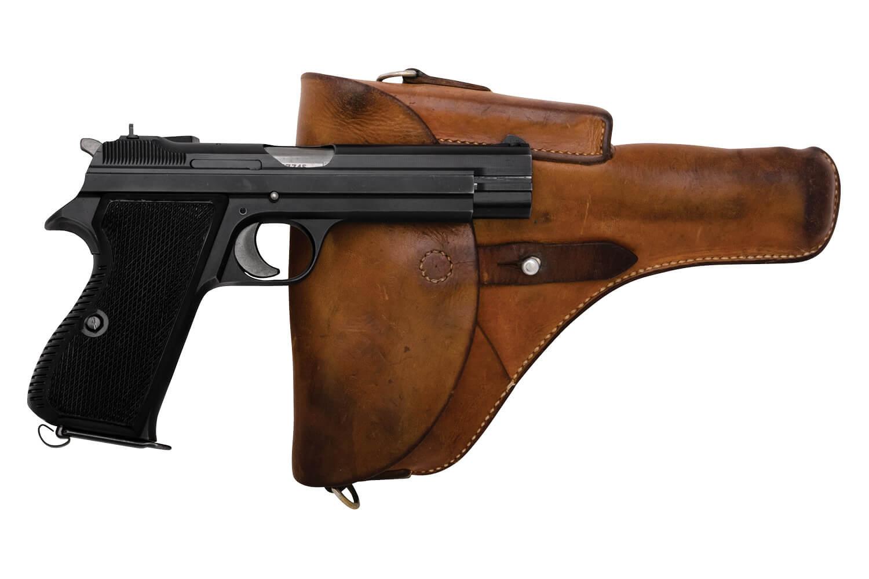 SIG Swiss Army P49 w/ Holster - sn A137xx5