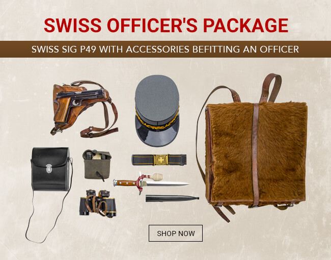 Swiss Army Officer's Package with P49