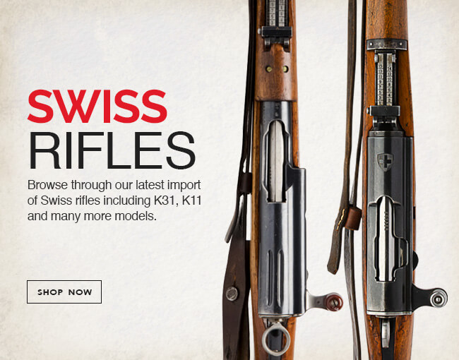Swiss K31 rifles