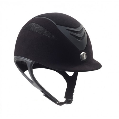 One K Defender Helmet - Black Suede