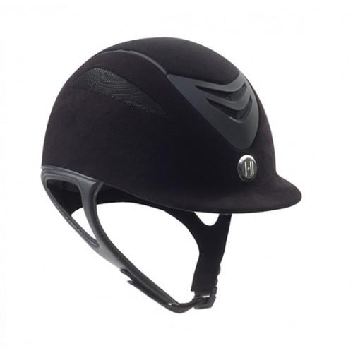 One K Defender Helmet - Black Suede