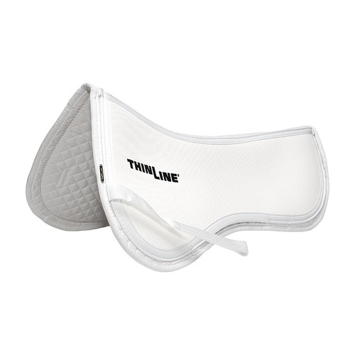 Thinline Cotton Trifecta English Half Pad - White