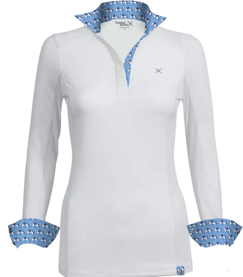 Tredstep Solo Milan Competition Shirt - Parisian Blue