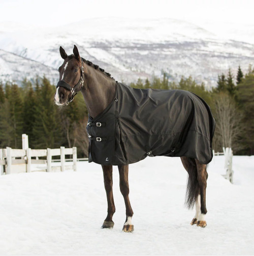 Horze Nevada Rain Turnout Sheet - Black