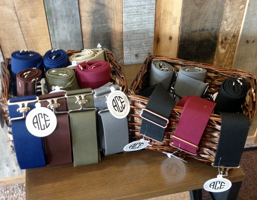 Collection of ACE Equestrian Belts