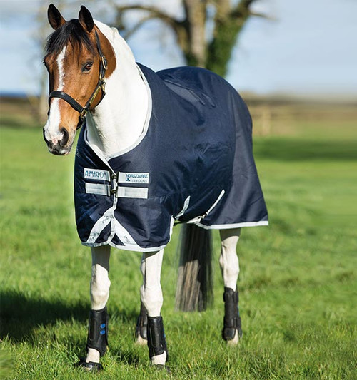 Amigo original pony blanket in Navy
