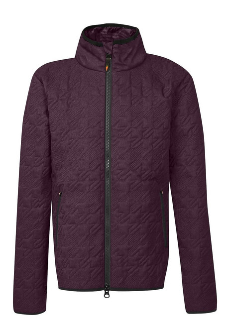 Kids Quilted HT Jacket - Mulberry