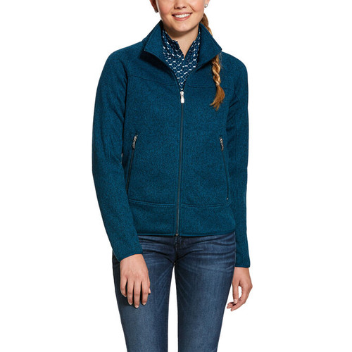 Ariat Sovereign Full Zip Jacket - Dream Teal