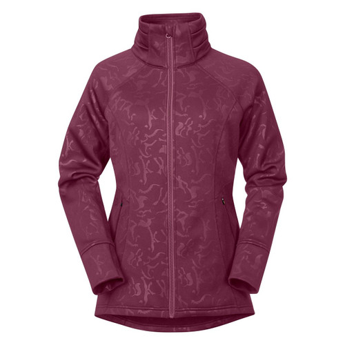 Flex Fleece Jacket - Berry