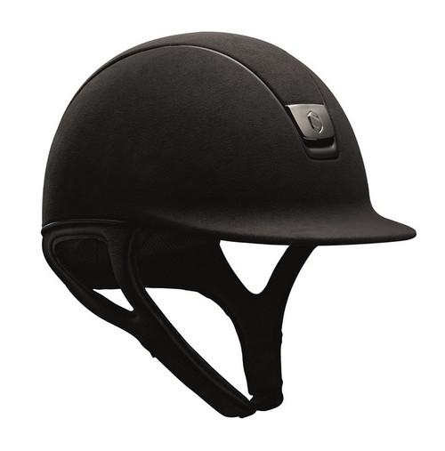 Samshield Premium Helmet - Black Alcantara