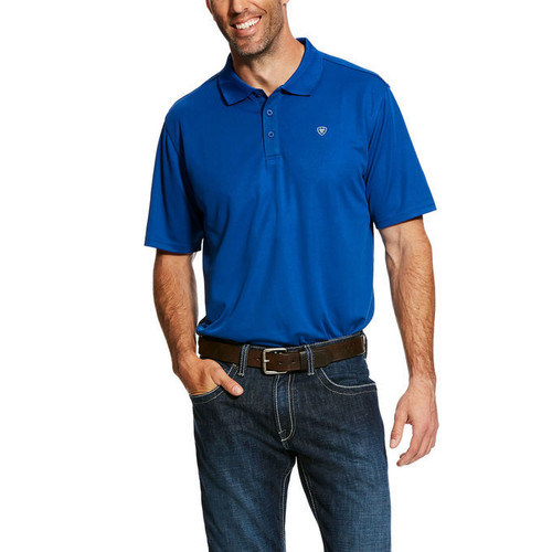 Ariat Men's Tek Polo - True Blue