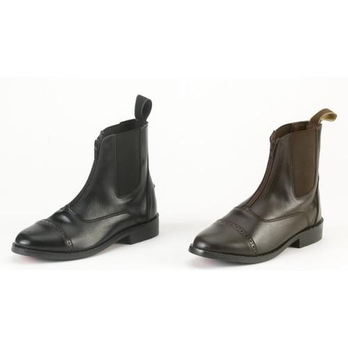 Equistar Kids Zip paddock boot