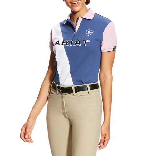 Ariat Women's Taryn Polo - Indigo Blue