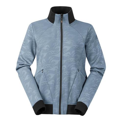 Kerrits Fleece Warm Up Jacket - Ash Blue