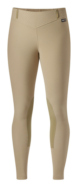 Kerrits Microcord Kneepatch Breech - Tan