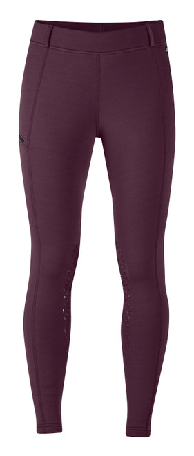 Kerrits Women's Power Stretch Pocket Tight II - Mulberry