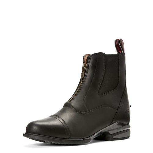 Ariat Devon Nitro Paddock Boot - Black - Front