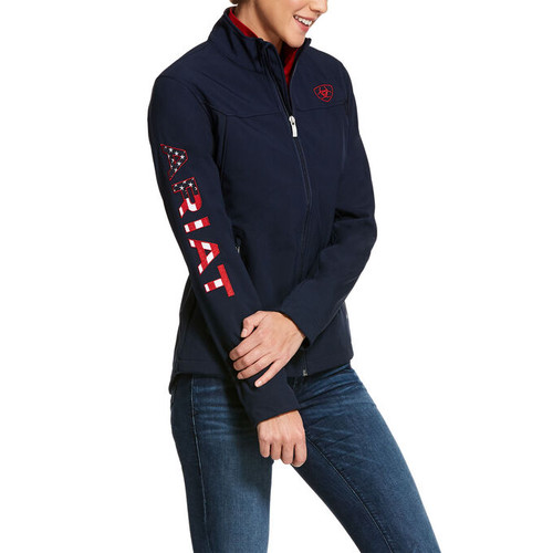 Ariat Women's New Team Softshell Jacket - Navy USA