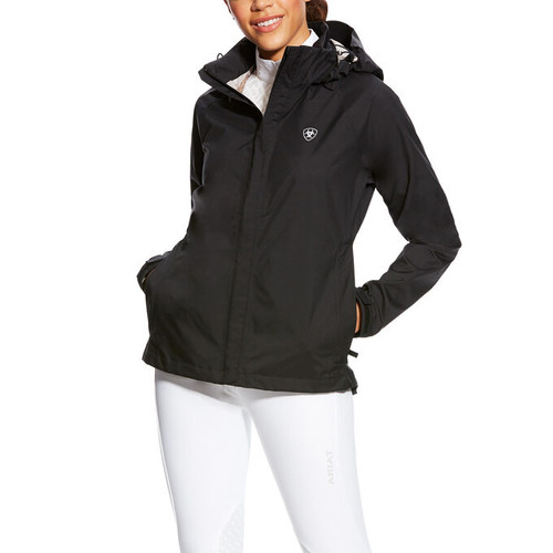 Ariat Women's Packable Waterproof Jacket - Black
