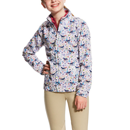 Ariat Kids Avery Jacket - Garden Pony Print
