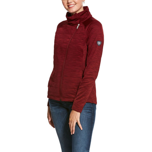 Ariat Vanquish Full Zip Jacket - Cabernet